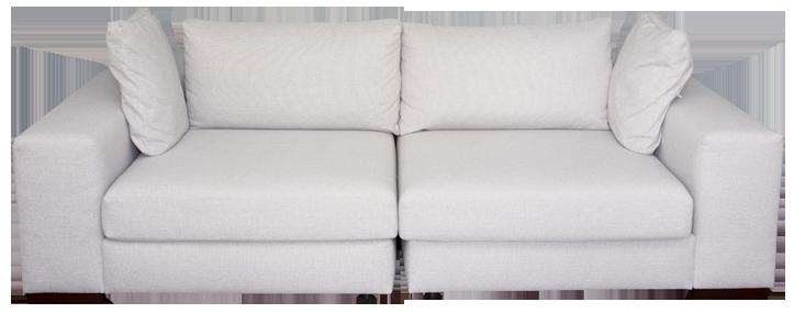 Nachher-Sofa