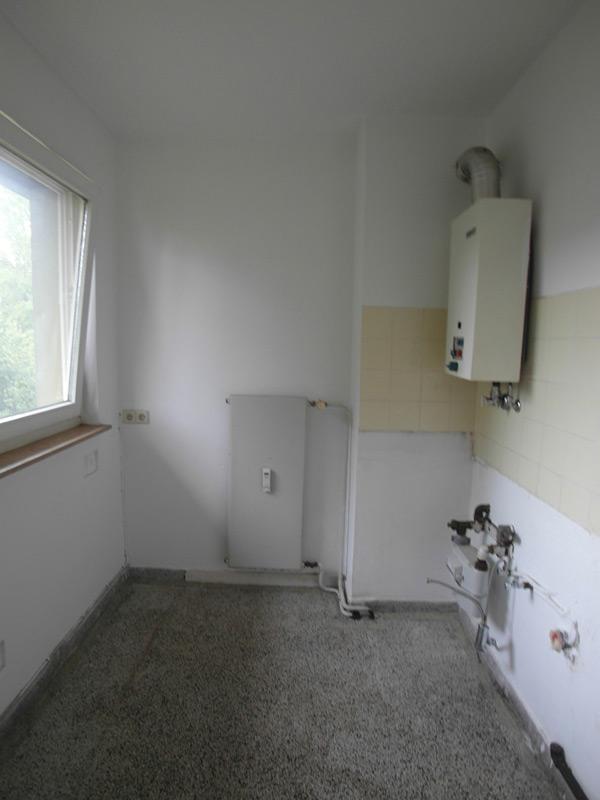 Ein Badezimmer im Aufbau